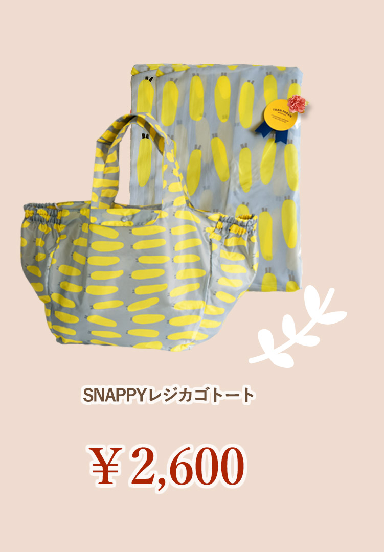 SNAPPYレジカゴトート